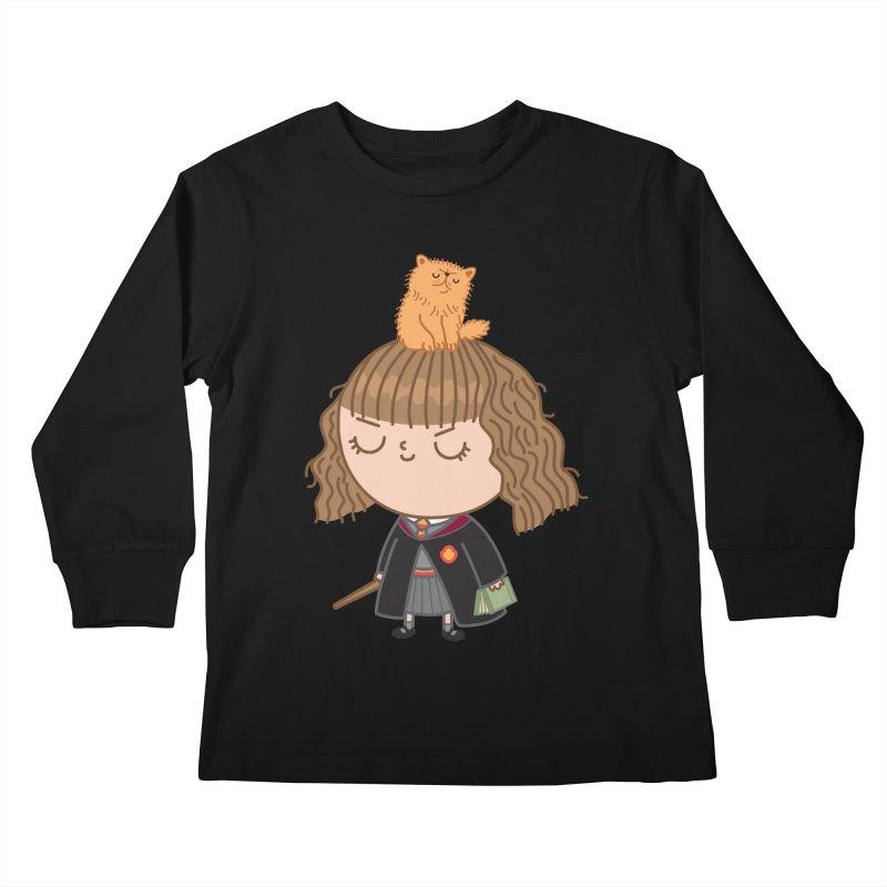 Hermione Kids Longsleeve T-Shirt by Pepe Rodríguez