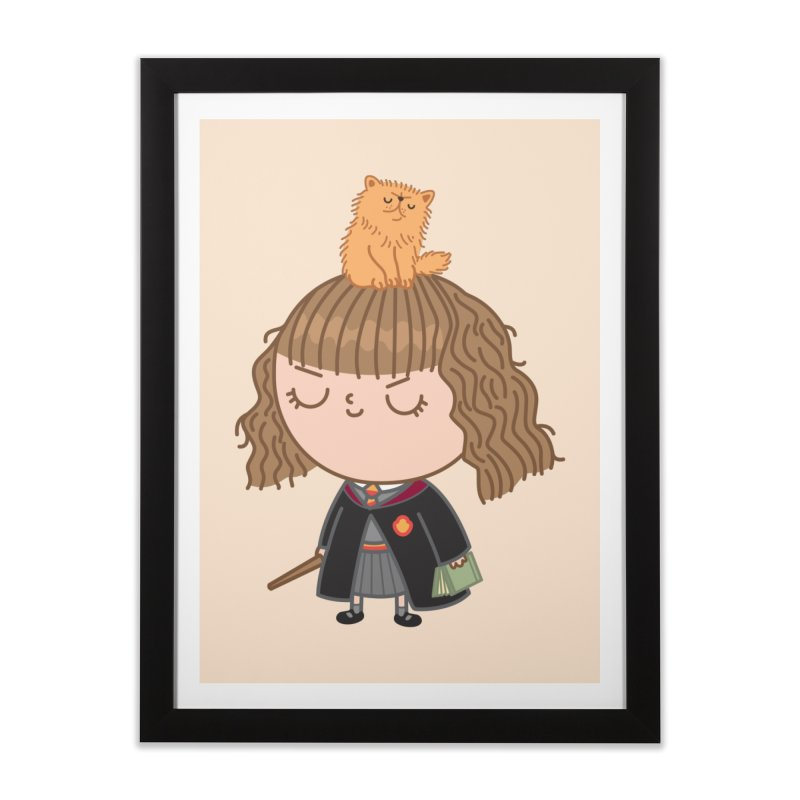 Hermione Home Framed Fine Art Print by Pepe Rodríguez
