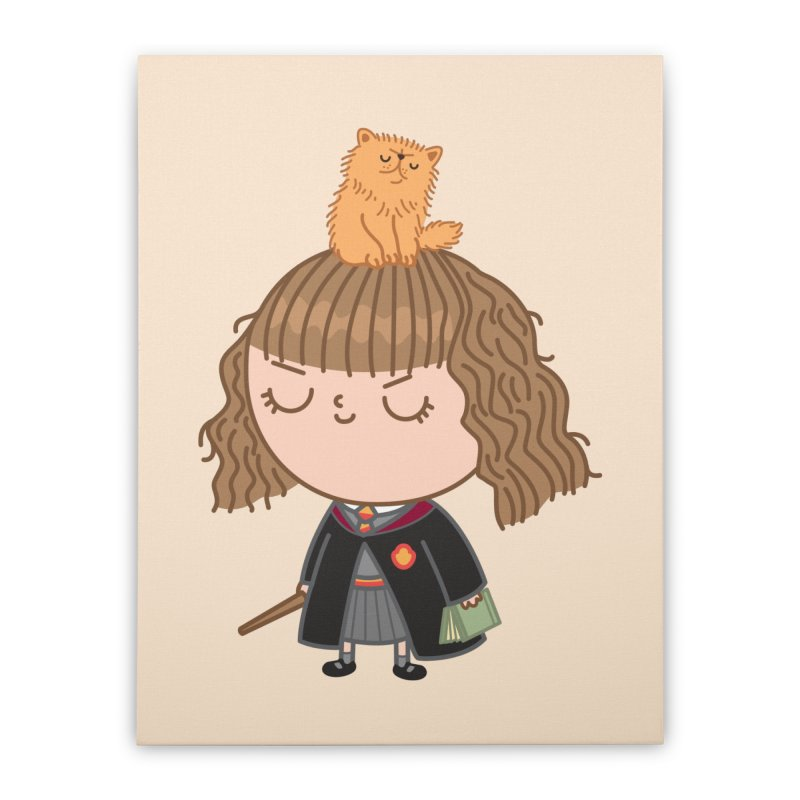 Hermione Home Stretched Canvas by Pepe Rodríguez