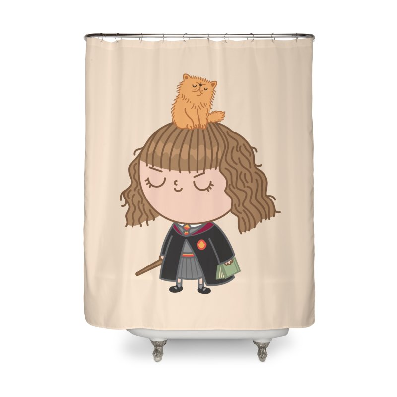 Hermione Home Shower Curtain by Pepe Rodríguez