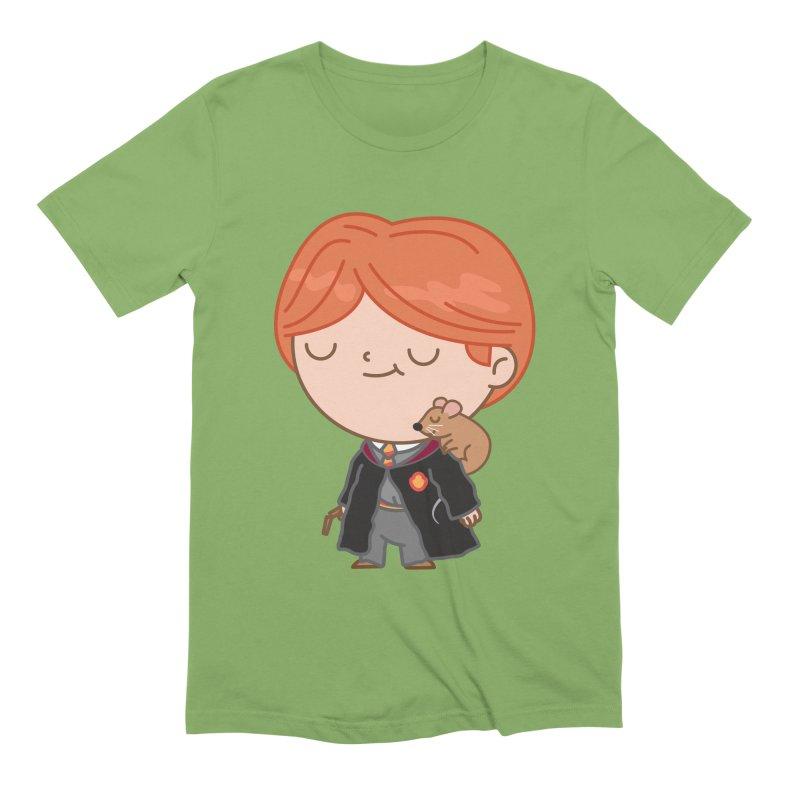 Ron Men's Extra Soft T-Shirt by Pepe Rodríguez