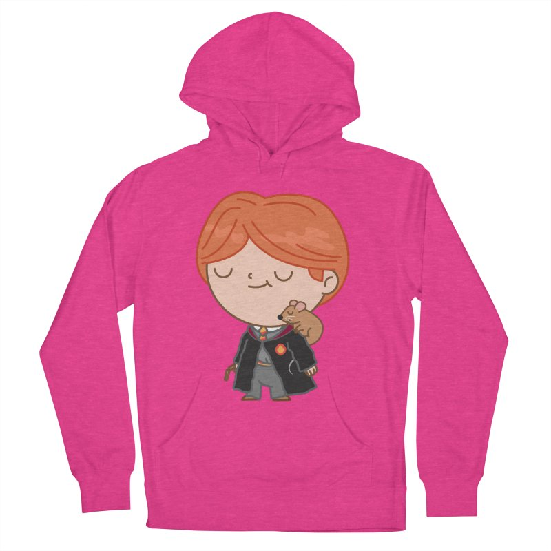 Ron Women's French Terry Pullover Hoody by Pepe Rodríguez