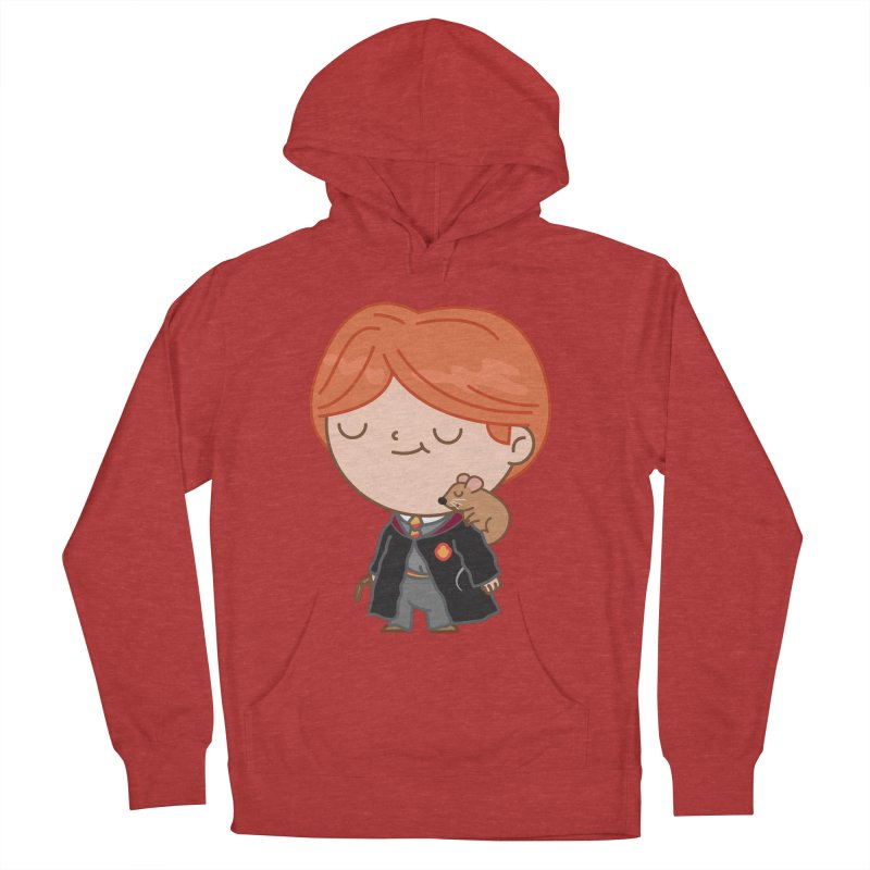 Ron Men's French Terry Pullover Hoody by Pepe Rodríguez