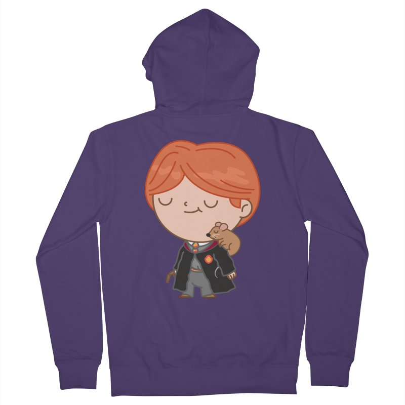 Ron Women's French Terry Zip-Up Hoody by Pepe Rodríguez
