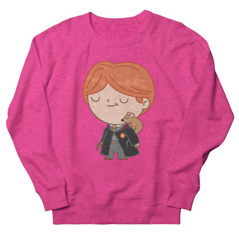 Ron Women's French Terry Sweatshirt by Pepe Rodríguez