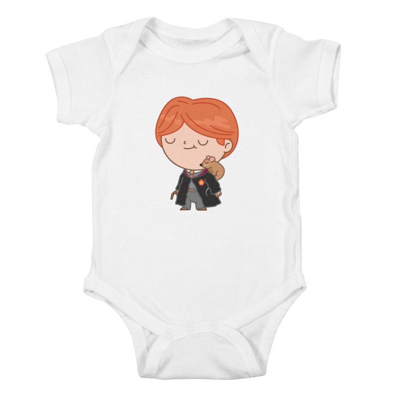 Ron Kids Baby Bodysuit by Pepe Rodríguez