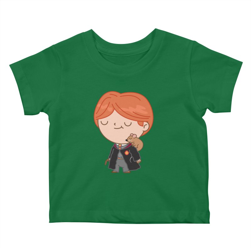 Ron Kids Baby T-Shirt by Pepe Rodríguez