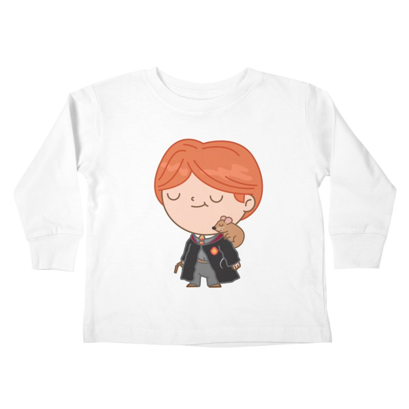 Ron Kids Toddler Longsleeve T-Shirt by Pepe Rodríguez