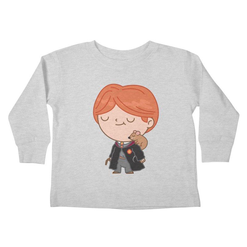 Ron Kids Toddler Longsleeve T-Shirt by Pepe Rodríguez