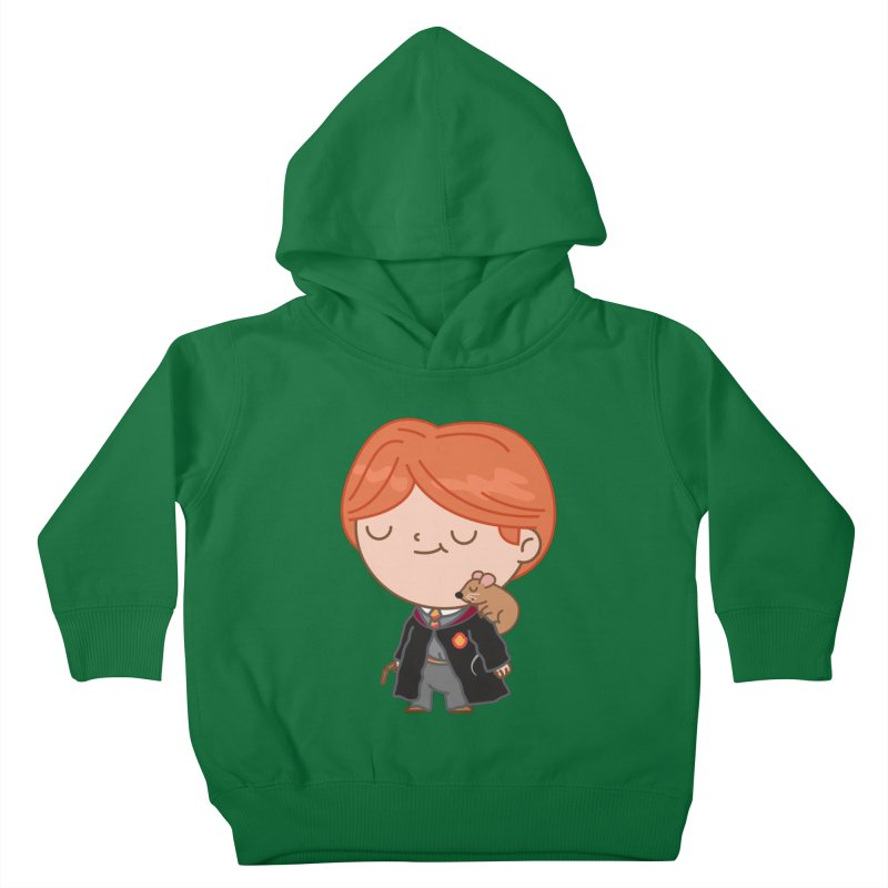 Ron Kids Toddler Pullover Hoody by Pepe Rodríguez