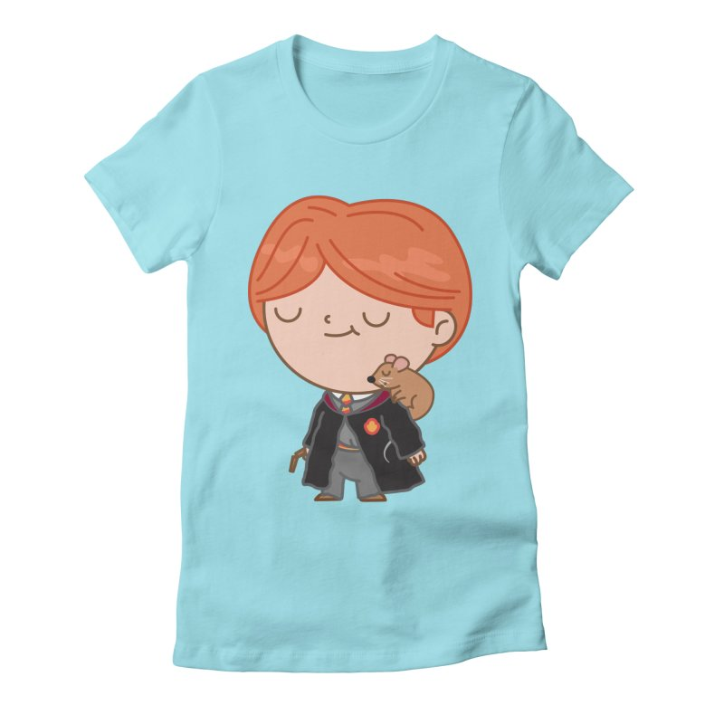 Ron Women's Fitted T-Shirt by Pepe Rodríguez