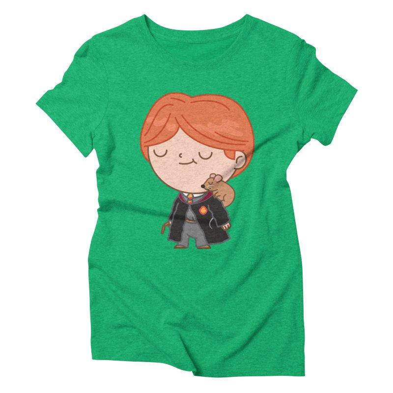 Ron Women's Triblend T-Shirt by Pepe Rodríguez