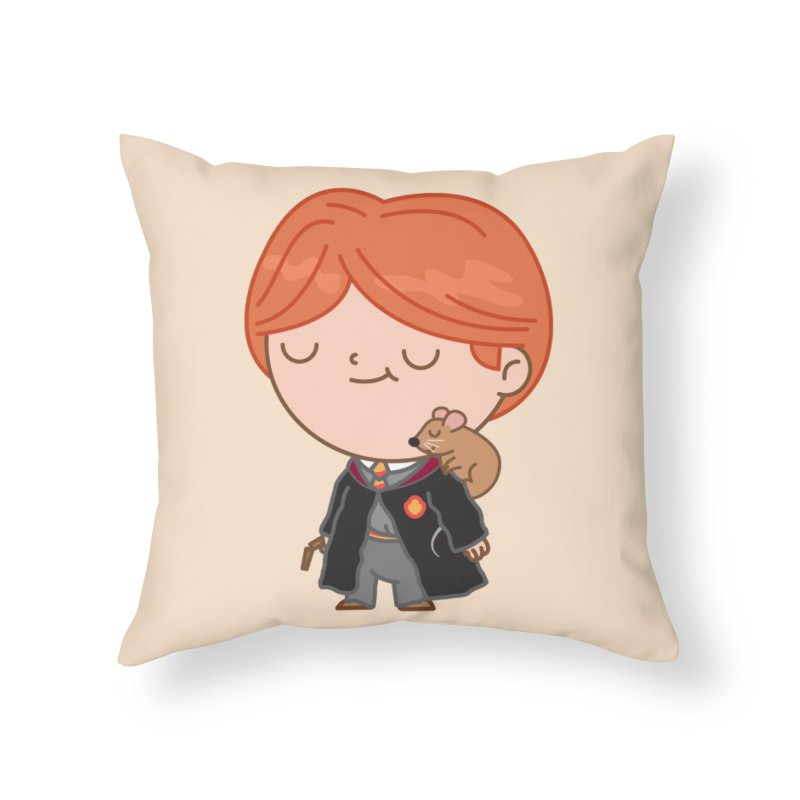 Ron Home Throw Pillow by Pepe Rodríguez