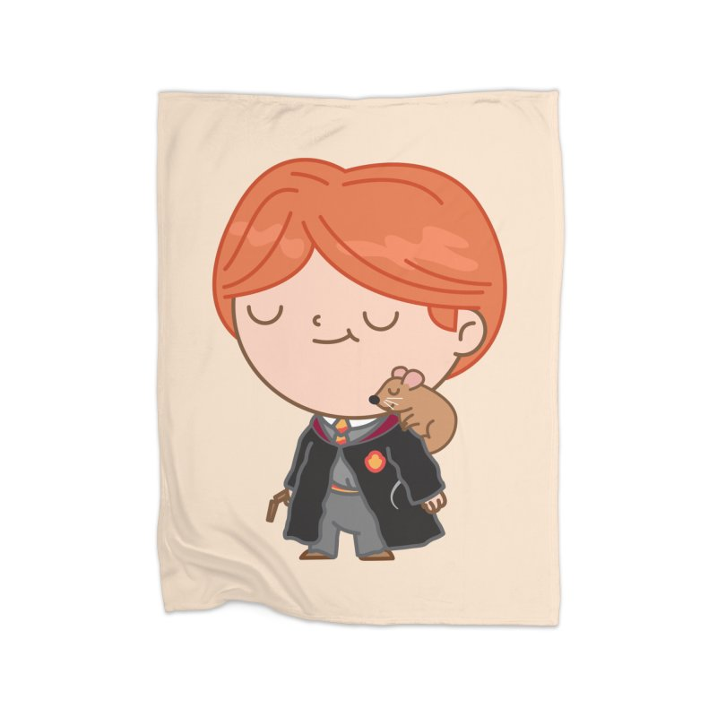 Ron Home Blanket by Pepe Rodríguez