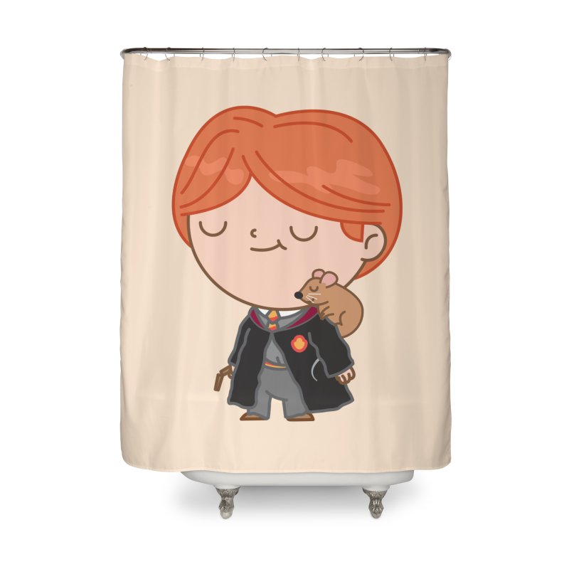 Ron Home Shower Curtain by Pepe Rodríguez