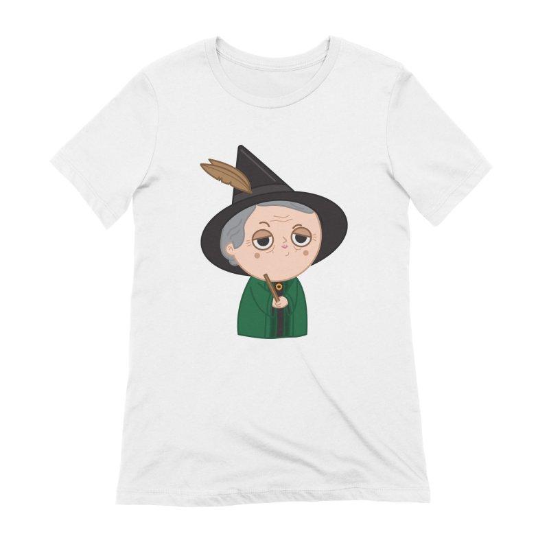 Professor Mcgonagall Women's Extra Soft T-Shirt by Pepe Rodríguez