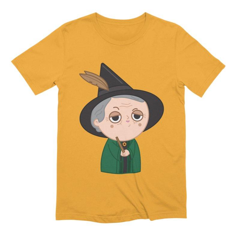 Professor Mcgonagall Men's Extra Soft T-Shirt by Pepe Rodríguez