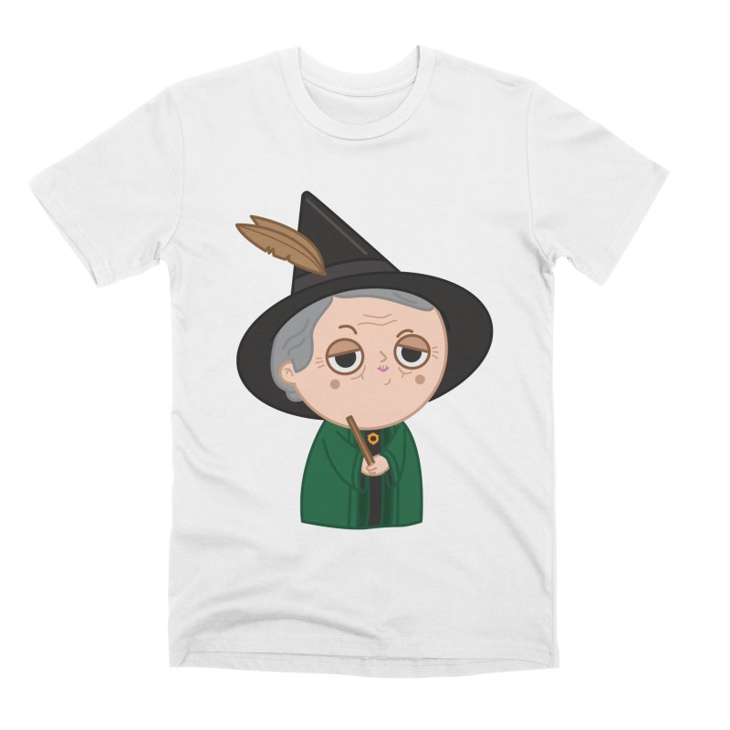 Professor Mcgonagall Men's Premium T-Shirt by Pepe Rodríguez