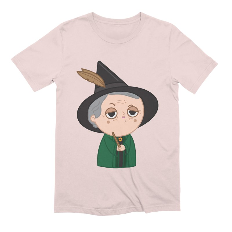 Professor Mcgonagall Men's Extra Soft T-Shirt by Pepe Rodríguez
