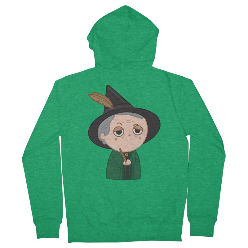 Professor Mcgonagall Men's Zip-Up Hoody by Pepe Rodríguez