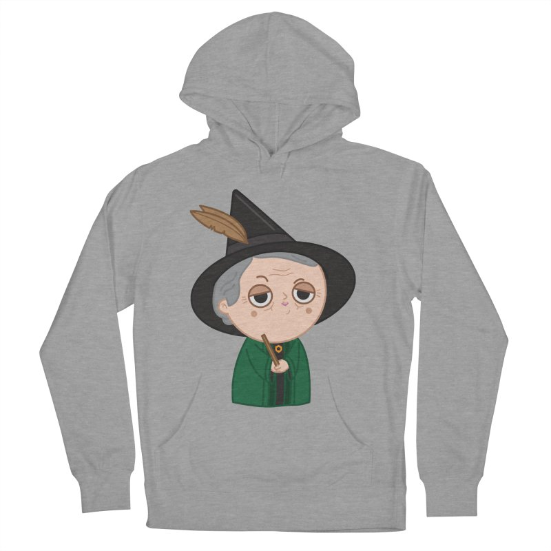 Professor Mcgonagall Women's French Terry Pullover Hoody by Pepe Rodríguez