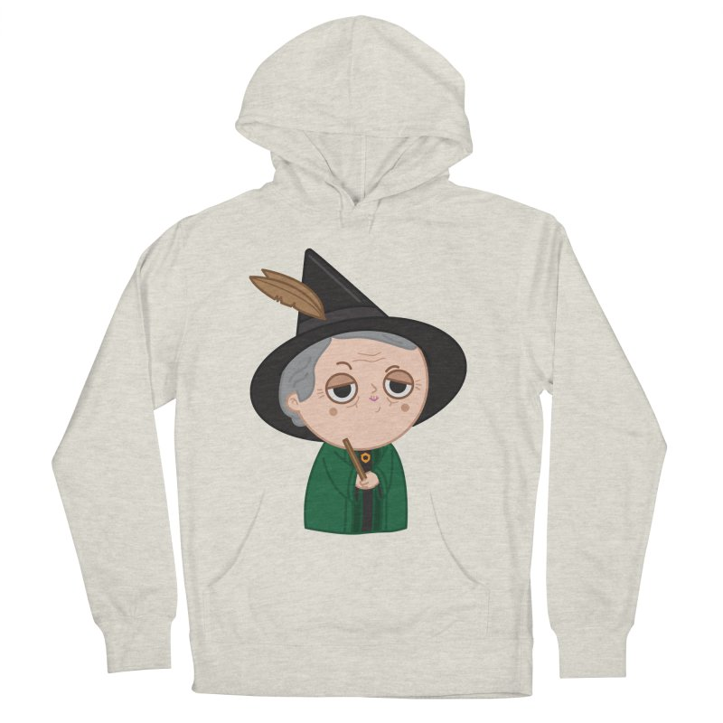 Professor Mcgonagall Men's French Terry Pullover Hoody by Pepe Rodríguez