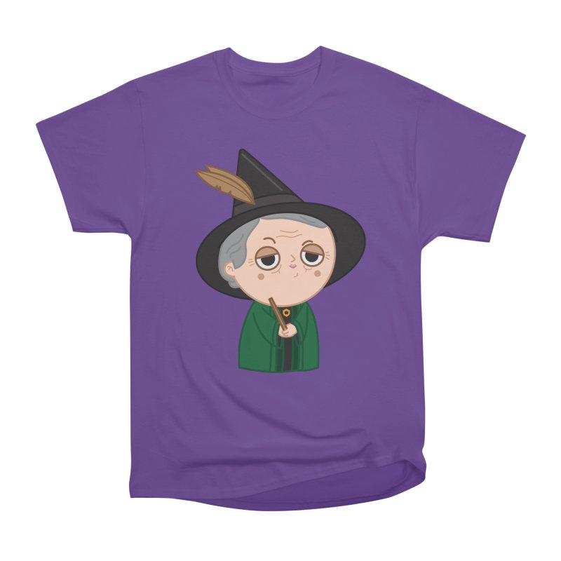 Professor Mcgonagall Women's Heavyweight Unisex T-Shirt by Pepe Rodríguez
