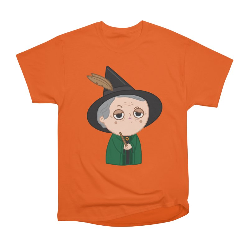 Professor Mcgonagall Men's Heavyweight T-Shirt by Pepe Rodríguez