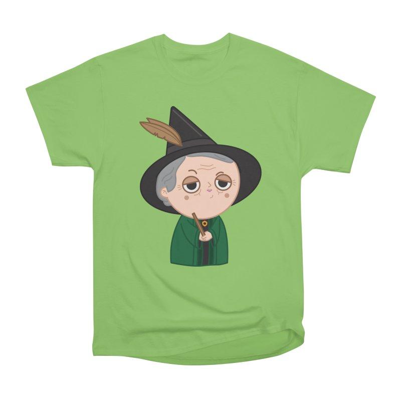 Professor Mcgonagall Men's Heavyweight T-Shirt by Pepe Rodríguez