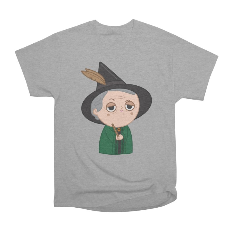 Professor Mcgonagall Women's Heavyweight Unisex T-Shirt by Pepe Rodríguez