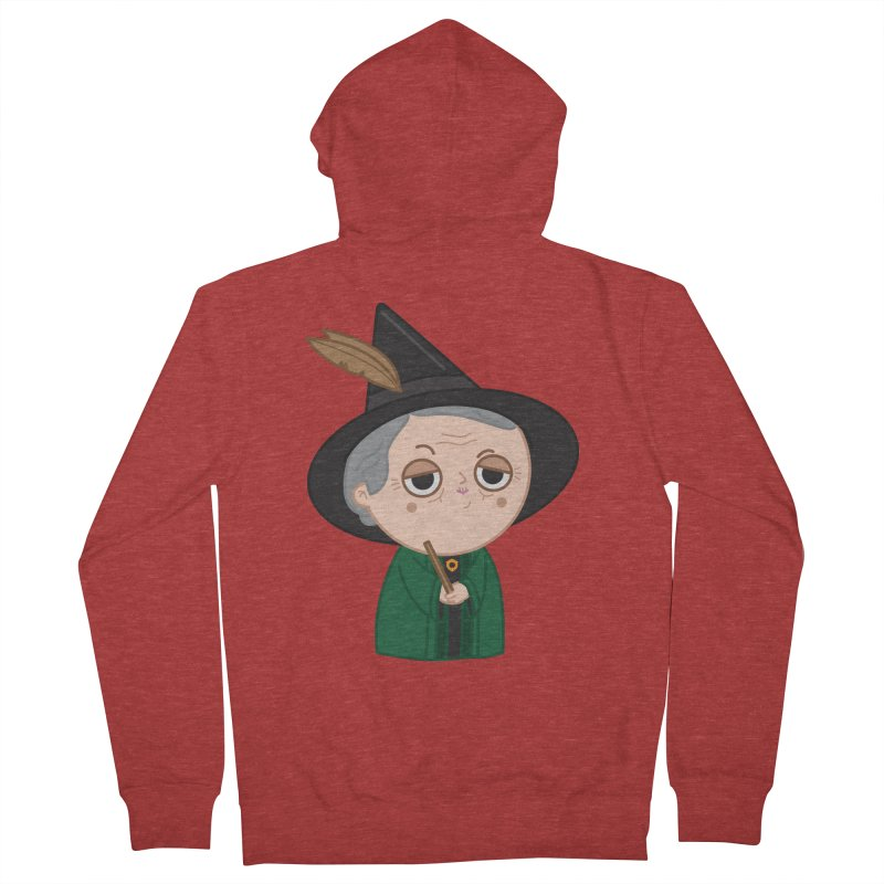Professor Mcgonagall Women's French Terry Zip-Up Hoody by Pepe Rodríguez