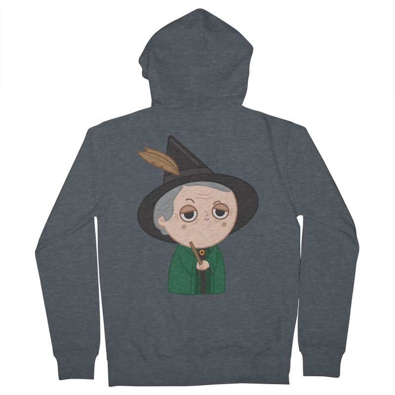 Professor Mcgonagall Men's French Terry Zip-Up Hoody by Pepe Rodríguez