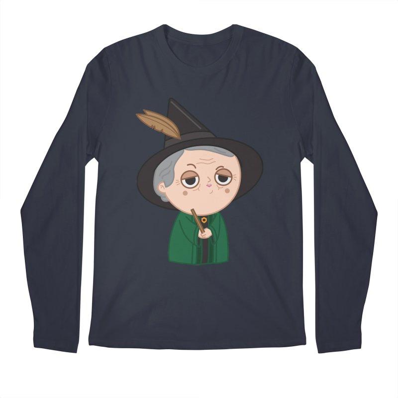 Professor Mcgonagall Men's Regular Longsleeve T-Shirt by Pepe Rodríguez