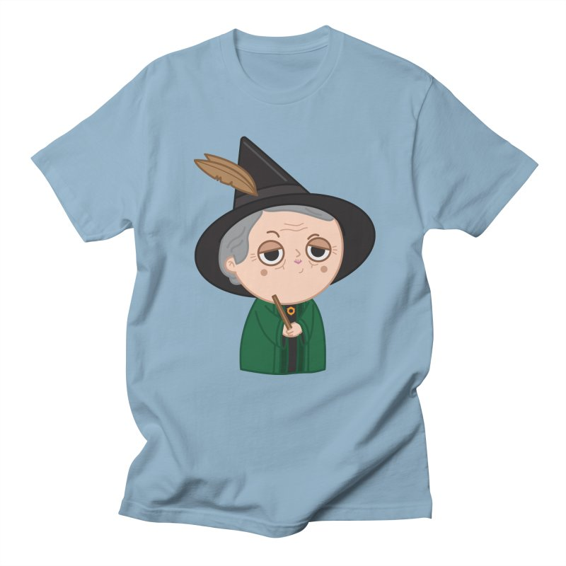 Professor Mcgonagall Men's Regular T-Shirt by Pepe Rodríguez