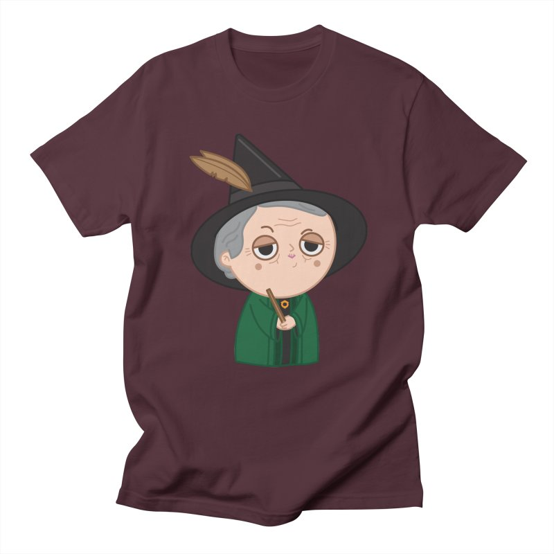 Professor Mcgonagall Women's Regular Unisex T-Shirt by Pepe Rodríguez
