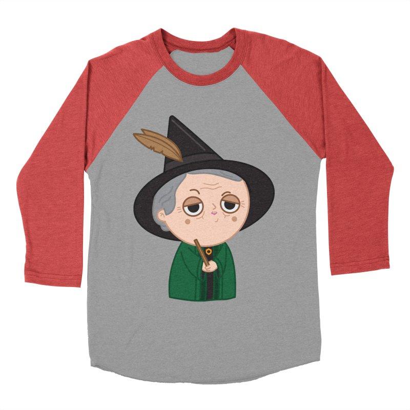 Professor Mcgonagall Men's Baseball Triblend Longsleeve T-Shirt by Pepe Rodríguez
