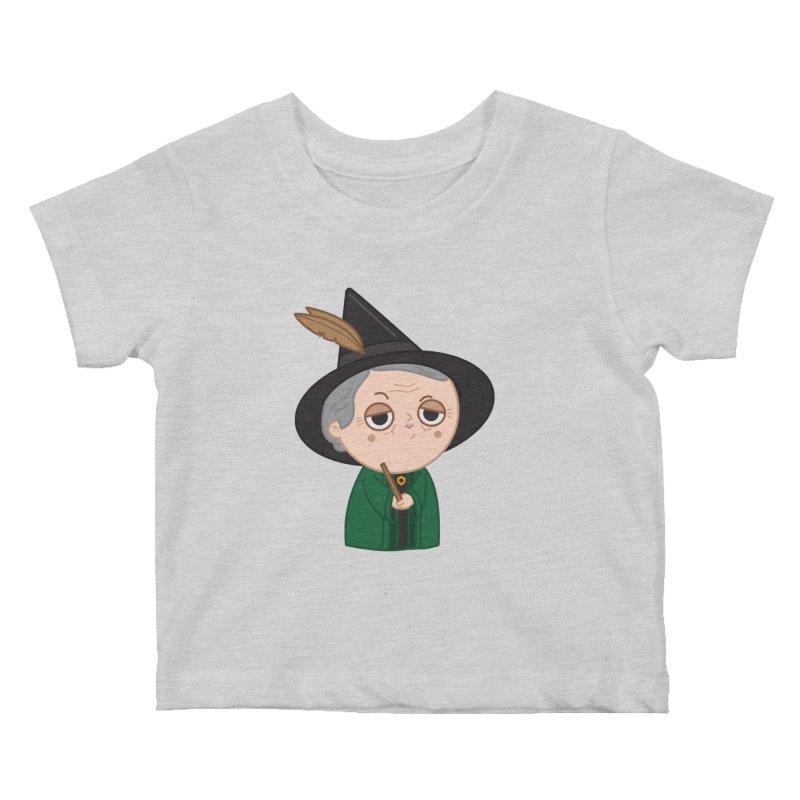 Professor Mcgonagall Kids Baby T-Shirt by Pepe Rodríguez