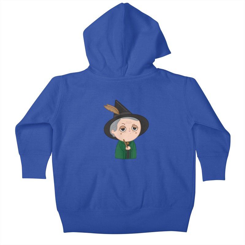 Professor Mcgonagall Kids Baby Zip-Up Hoody by Pepe Rodríguez