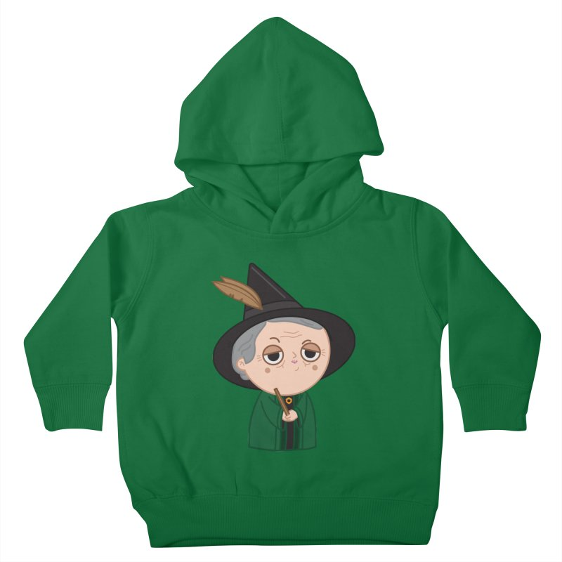 Professor Mcgonagall Kids Toddler Pullover Hoody by Pepe Rodríguez