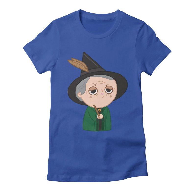 Professor Mcgonagall Women's Fitted T-Shirt by Pepe Rodríguez