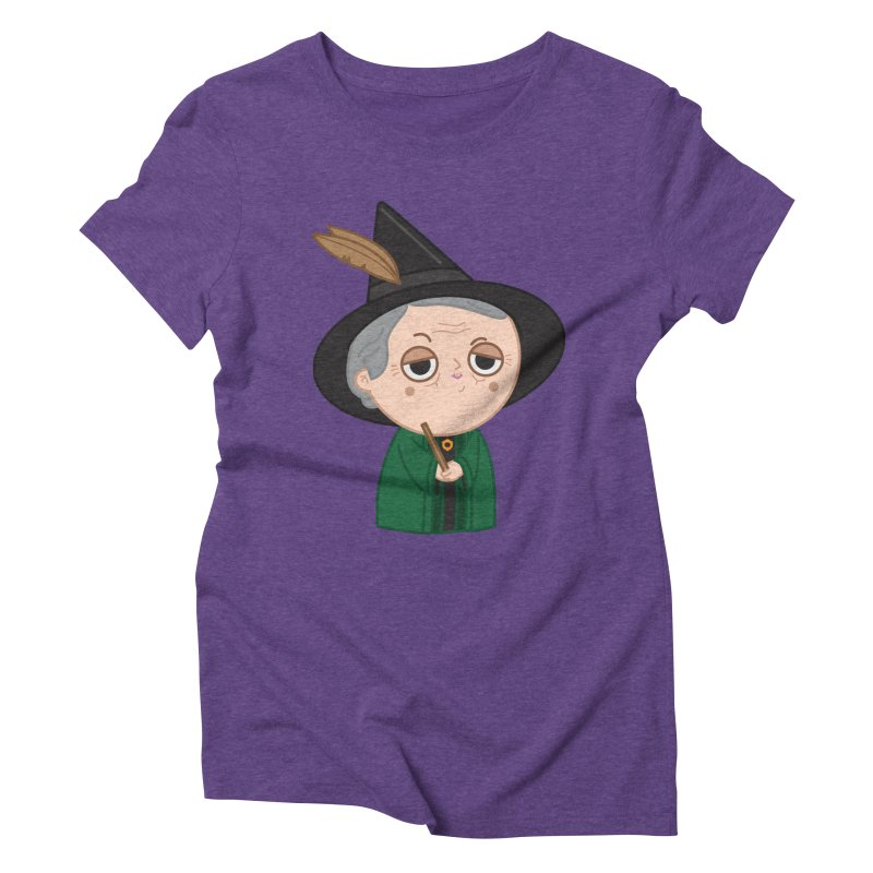 Professor Mcgonagall Women's Triblend T-Shirt by Pepe Rodríguez