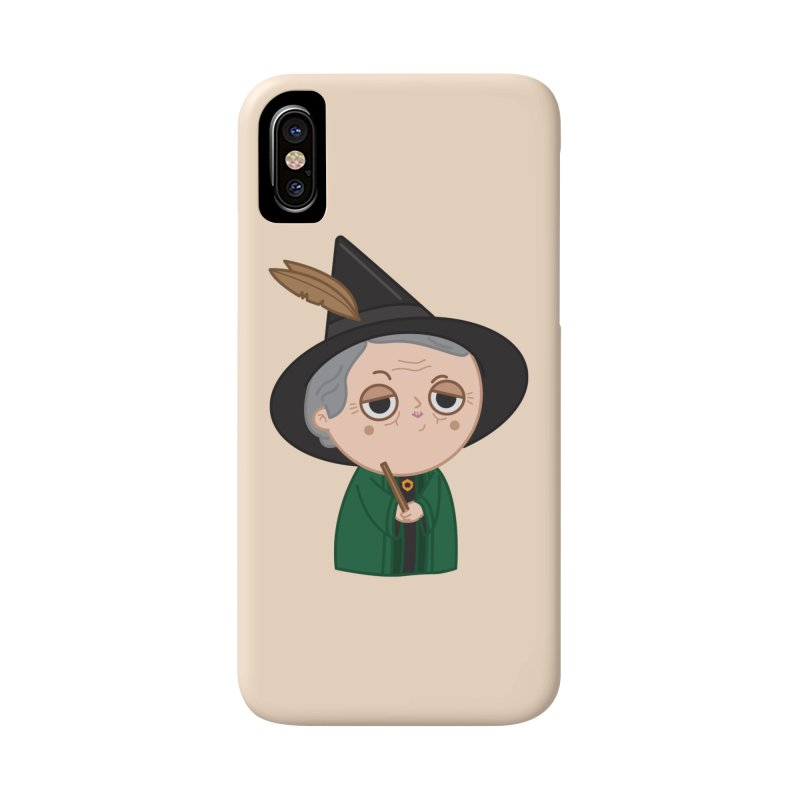Professor Mcgonagall Accessories Phone Case by Pepe Rodríguez