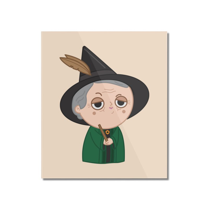 Professor Mcgonagall Home Mounted Acrylic Print by Pepe Rodríguez