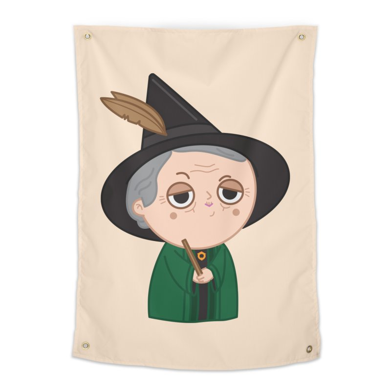 Professor Mcgonagall Home Tapestry by Pepe Rodríguez