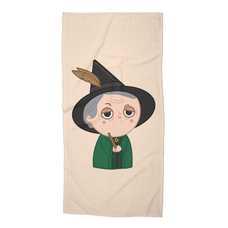Professor Mcgonagall Accessories Beach Towel by Pepe Rodríguez