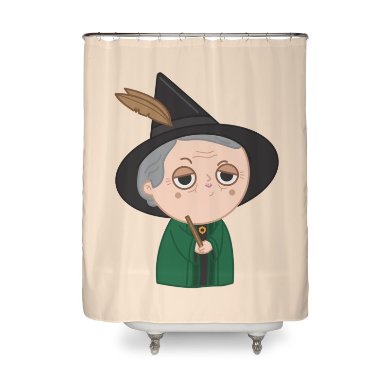 Professor Mcgonagall Home Shower Curtain by Pepe Rodríguez