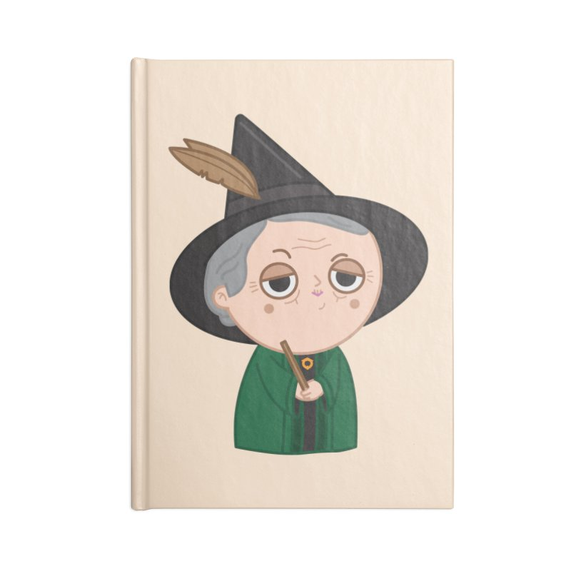 Professor Mcgonagall Accessories Notebook by Pepe Rodríguez