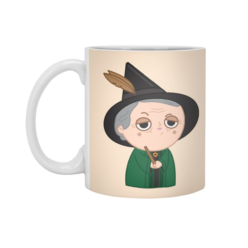 Professor Mcgonagall Accessories Standard Mug by Pepe Rodríguez