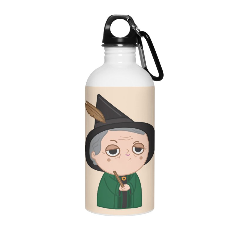 Professor Mcgonagall Accessories Water Bottle by Pepe Rodríguez