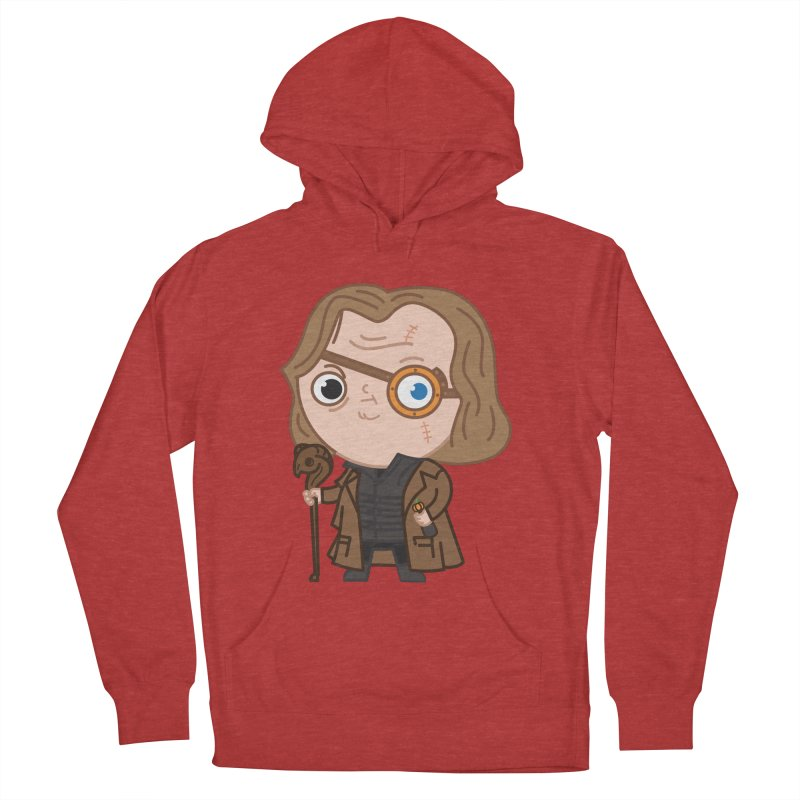Mad Eye Women's French Terry Pullover Hoody by Pepe Rodríguez